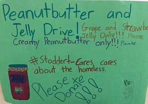 Peanut Butter & Jelly Drive For Stoddert Cares